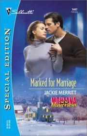 Marked For Marriage (Montana Mavericks)