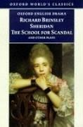 Cover of: The School for Scandal and Other Plays