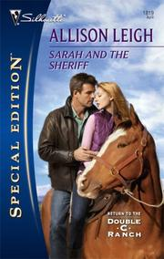 Cover of: Sarah and the Sheriff