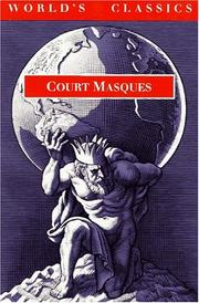 Cover of: Court masques |
