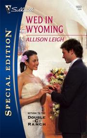 Cover of: Wed In Wyoming