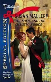 Cover of: The Sheik And The Christmas Bride