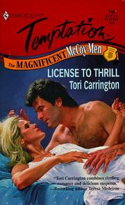 Cover of: License To Thrill (The Magnificent Mccoy Men)