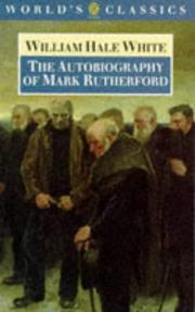 Cover of: The Autobiography of Mark Rutherford (World's Classics)