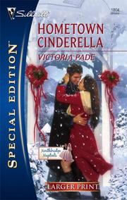 Cover of: Hometown Cinderella (Larger Print Special Edition) | Victoria Pade