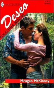 Cover of: Solo Una Noche: (Only One Night) (Harlequin Deseo (Spanish))