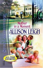 Cover of: Mother In A Moment (Series Plus)