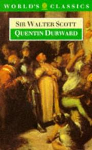 Cover of: Quentin Durward | Sir Walter Scott