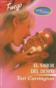 Cover of: El Sabor Del Deseo: (The Taste Of Desire) (Fuego)