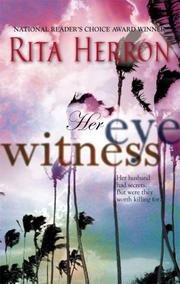 Cover of: Her Eyewitness