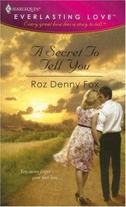 Cover of: A Secret To Tell You