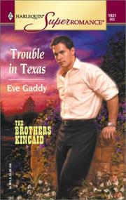 Cover of: Trouble in Texas