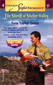 Cover of: The Sheriff of Shelter Valley: Shelter Valley Stories (Harlequin Superromance No. 1087)