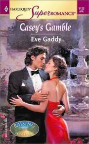 Cover of: Casey's gamble