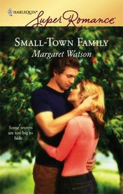 Cover of: Small-Town Family | Margaret Watson