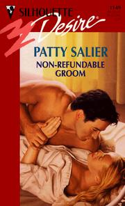 Cover of: Non-Refundable Groom (Harlequin/Silhouette, No. 1149)