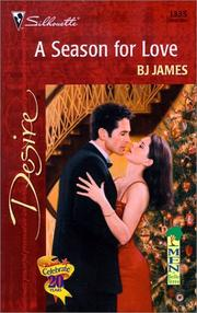 Cover of: Season For Love (Men Of Belle Terre) (Silhoette Desire, No 1335)