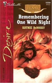 Cover of: Remembering one wild night