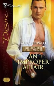 An Improper Affair (Silhouette Desire)