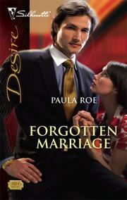 Cover of: Forgotten Marriage