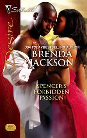 Cover of: Spencer's Forbidden Passion | Brenda Jackson