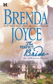 Cover of: The Perfect Bride