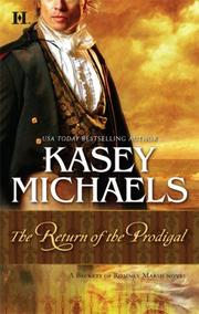 Cover of: The Return Of The Prodigal (The Beckets of Romney Marsh)