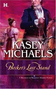 Cover of: Becket's Last Stand (Beckets of Romney Marsh)