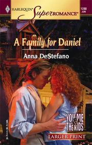 Cover of: A Family For Daniel | Anna DeStefano