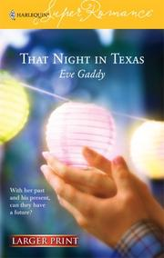 Cover of: That Night In Texas