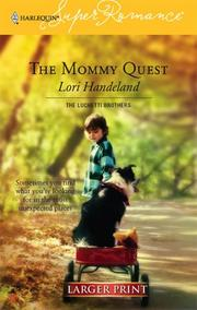 Cover of: The Mommy Quest