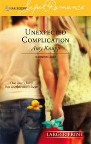Cover of: Unexpected Complication