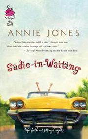 Cover of: Sadie-in-Waiting (Life, Faith & Getting It Right #1) (Steeple Hill Cafe)