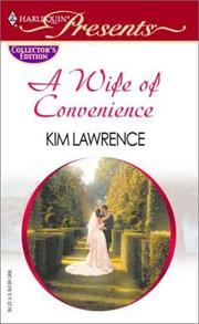 Cover of: A Wife of Convenience