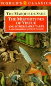Cover of: The misfortunes of virtue, and other early tales