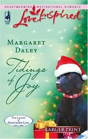 Cover of: Tidings of Joy (The Ladies of Sweetwater Lake #5) (Love Inspired) | Margaret Daley