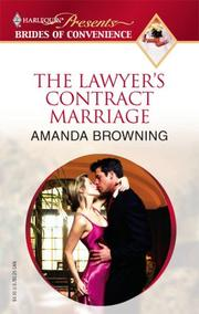 Cover of: The Lawyer's Contract Marriage