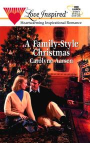 Cover of: A Family-Style Christmas (Love Inspired #86)