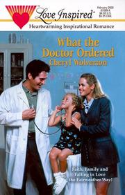 Cover of: What the Doctor Ordered (Fairweather, Book 1)