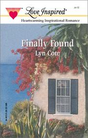 Cover of: Finally Found (Bountiful Blessings Series #2)
