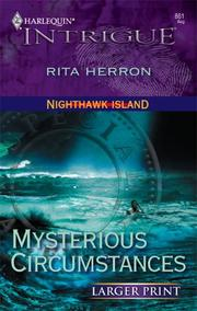 Cover of: Mysterious Circumstances