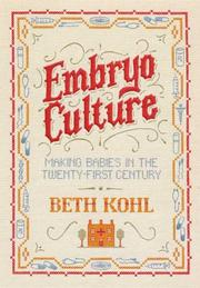 Cover of: Embryo Culture