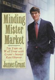 Cover of: Minding Mr. Market