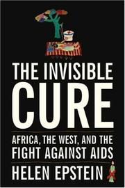 Cover of: The Invisible Cure | Helen Epstein