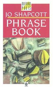 Cover of: Phrase book