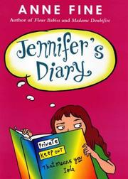 Cover of: Jennifer's Diary