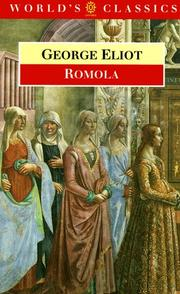 Cover of: Romola (The Worlds Classics) | George Eliot