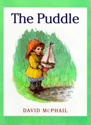 Cover of: The puddle | David M. McPhail