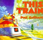 Cover of: This train | Paul Collicutt