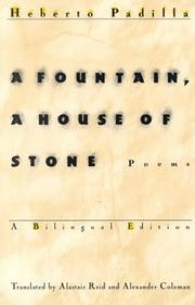 Cover of: A Fountain, a House of Stone